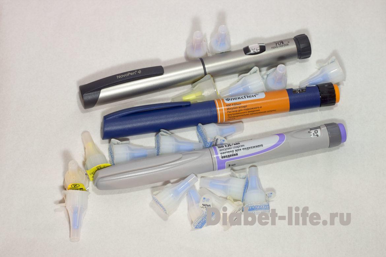 Средства введения инсулина